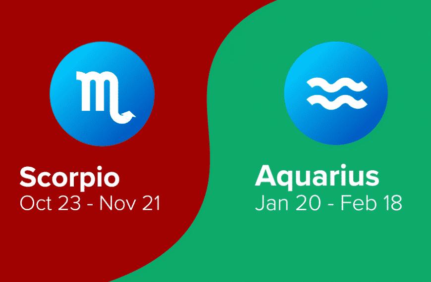 Scorpio and Aquarius Friendship Compatibility