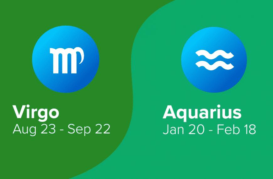 Virgo and Aquarius Friendship Compatibility