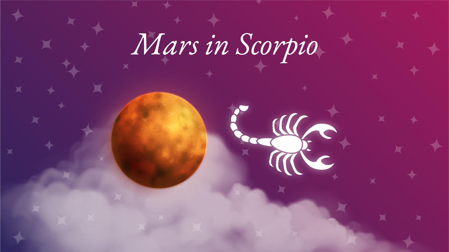 Mars in Scorpio Meaning