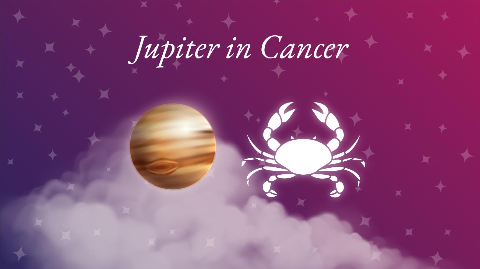 Jupiter in Cancer Meaning