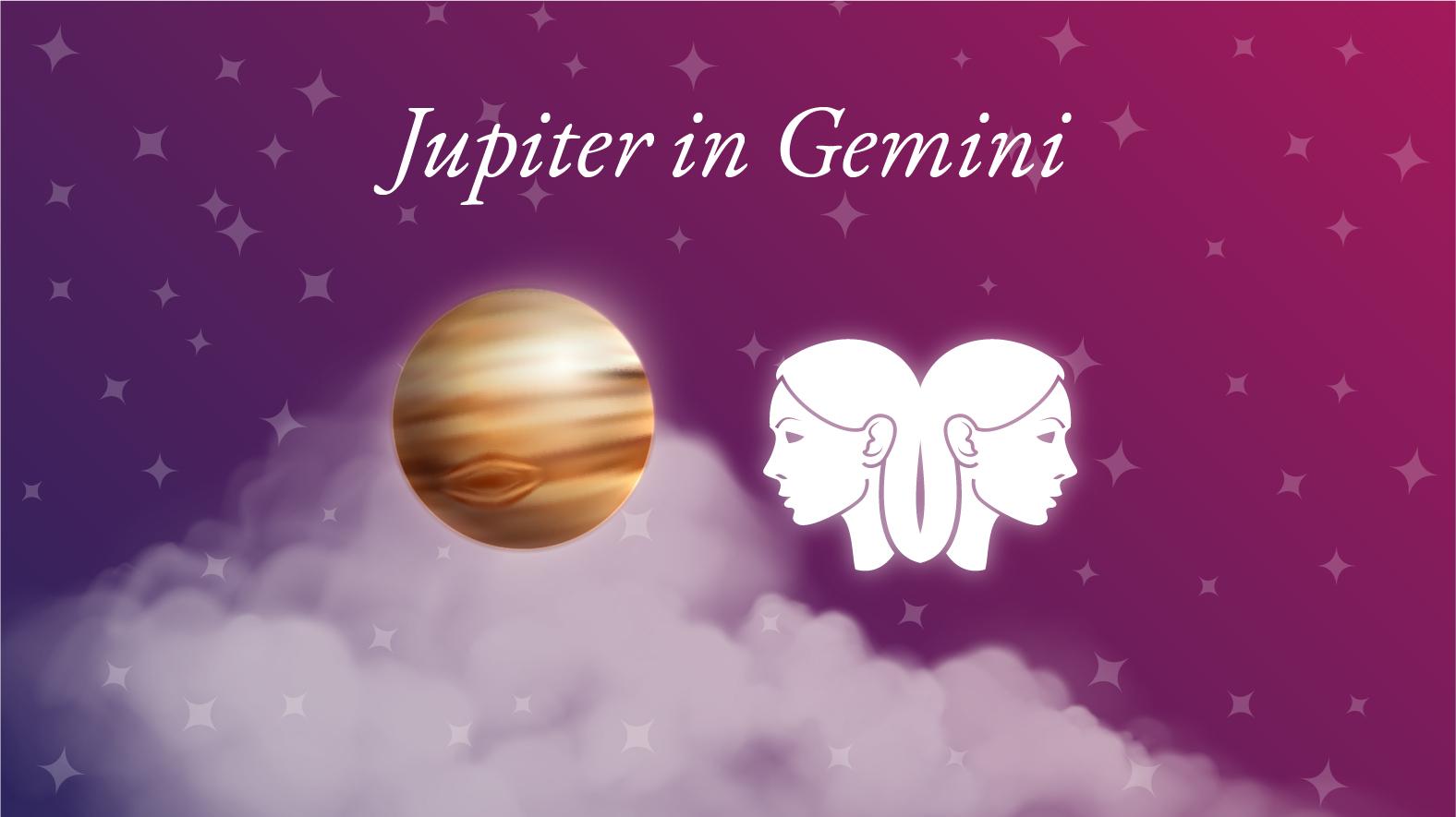 Jupiter in Gemini Meaning